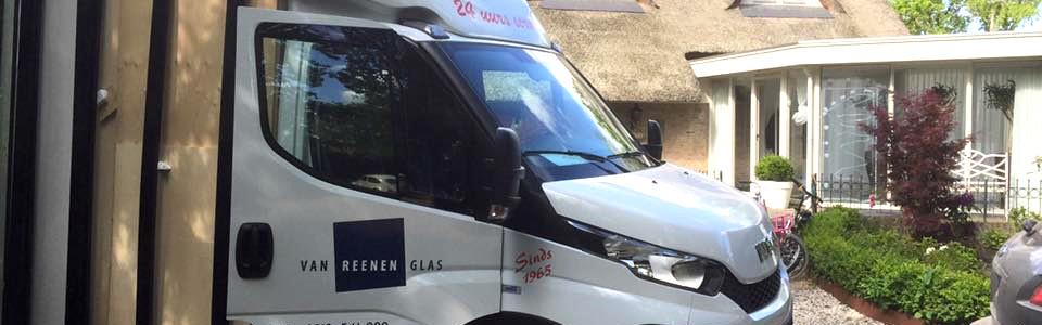 Busje Glaszetter Heerenveen Van Reenen Glas